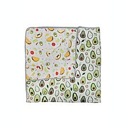 Loulou Lollipop Avocado Muslin Baby Blanket