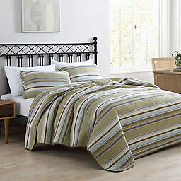 Stone Cottage Fresno 2-Piece Twin Quilt Set in Green