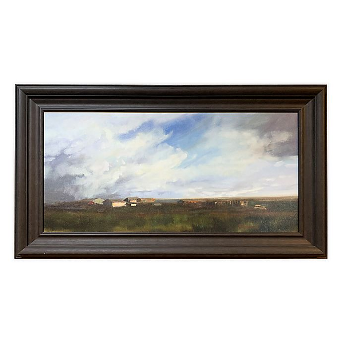 Alternate image 1 for Prairie 34-Inch x 58-Inch Framed Wall Art in Dark Brown