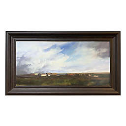 Prairie 34-Inch x 58-Inch Framed Wall Art in Dark Brown