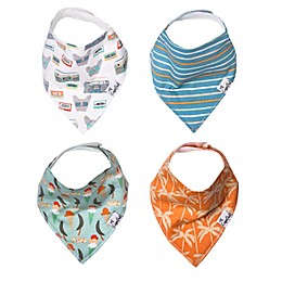 Copper Pearl 4-Pack Bruno Bandana Bibs