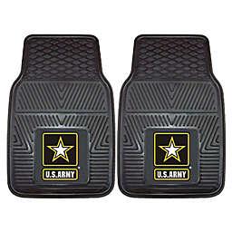 U.S. Army 2-Piece Vinyl Car Mat Set