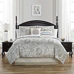 Waterford® Lynne 4-Piece Reversible Comforter Set