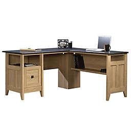 Sauder® Select August Hill L-Shaped Office Desk in Oak