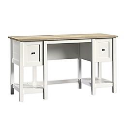 Sauder Cottage Road Desk in Soft White