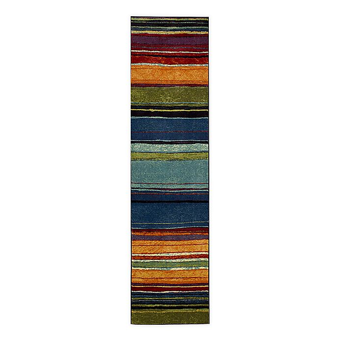 Alternate image 1 for Mohawk New Wave Rainbow 1'8 x 5' Multicolor Runner
