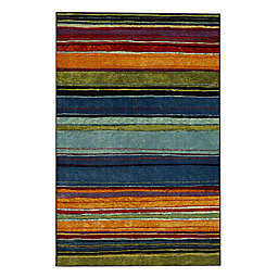 Mohawk New Wave Rainbow 3'9 x 5' Multicolor Area Rug