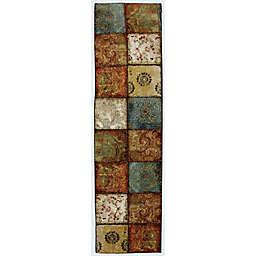 Mohawk Home Free Flow Artifact Panel Multicolor 5' Runner Rug