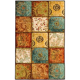 Mohawk Home Free Flow Artifact Panel Multicolor Area Rug