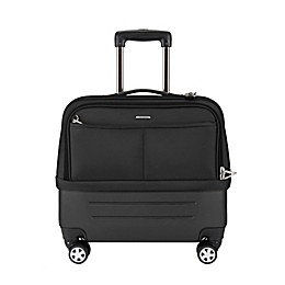 Travelon® Anti-Theft Underseat Softside Spinner Carry On Luggage in Black