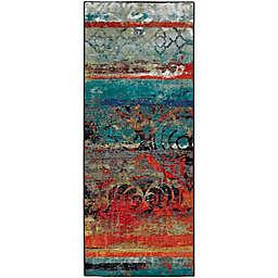 Mohawk Strata Eroded 1'8 x 5' Multicolor Runner