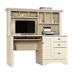 Sauder® Harbor View 3-Drawer Desk with Hutch