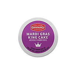 Community Coffee® Mardi Gras King Coffee for Single Serve Coffee Makers 24-Count