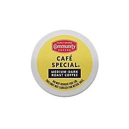 Community Coffee® Cafe Special Coffee for Single Serve Coffee Makers 24-Count