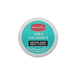 Community Coffee® Colombia Altura Coffee for Single Serve Coffee Makers 24-Count