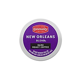 Community Coffee® New Orleans Blend Coffee for Single Serve Coffee Makers 24-Count