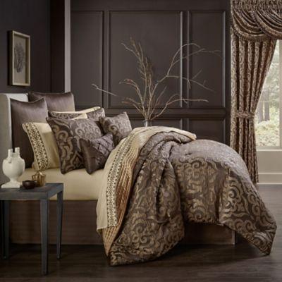 Madrid 6 Piece Queen Comforter Set In, J Queen New York Bedding Set