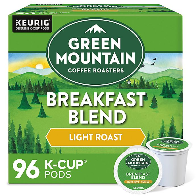 Alternate image 1 for Green Mountain Coffee® Breakfast Blend Coffee Keurig® K-Cup® Pods 96-Count
