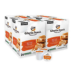 Gloria Jean's® Butter Toffee Coffee Keurig® K-Cup® Pods 96-Count
