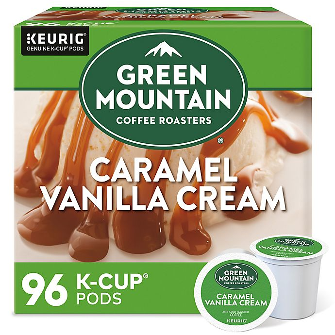 Alternate image 1 for Green Mountain Coffee® Caramel Vanilla Cream Coffee Keurig® K-Cup® Pods 96-Count