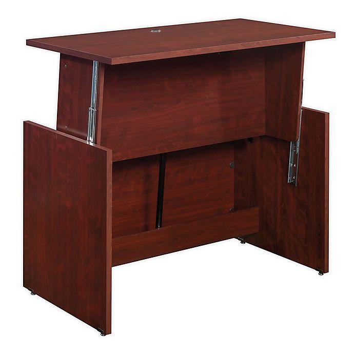 Alternate image 1 for Sauder® Sit/Stand Adjustable Height Desk