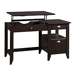 Sauder® Shoal Creek Lift Top Desk in Jamocha