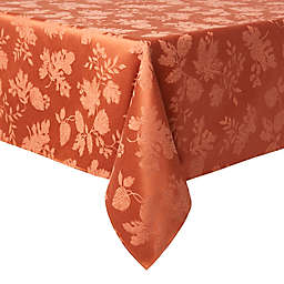 Autumn Medley 60-Inch x 104-Inch Oblong Tablecloth in Spice