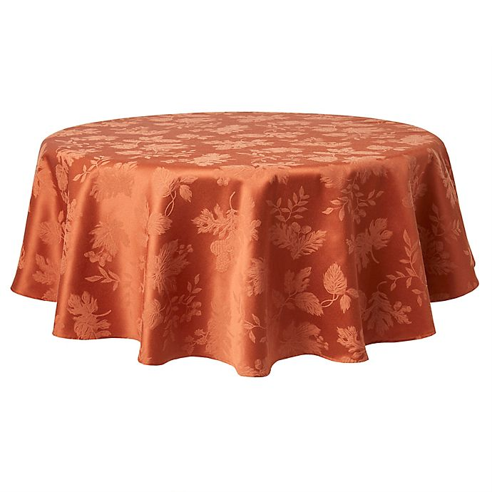 Alternate image 1 for Autumn Medley Round Tablecloth