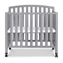 Davinci Dylan 3-in-1 Convertible Mini Crib in Grey