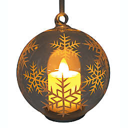4-Inch Candle Snowflake Ornament