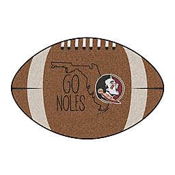 """Florida State University 20.5"""" x 32.5"""" Southern Style Football Mat"""