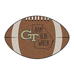 "Georgia Tech 20.5"" x 32.5"" Southern Style Football Mat"