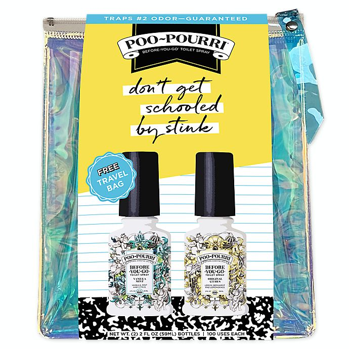 Alternate image 1 for Poo-Pourri® Back to College Travel Bag Set 2020