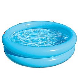 Minions Rush Hour 2-Ring Inflatable Pool in Light Blue