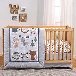 The Peanutshell™ Woodland Walk 3-Piece Crib Bedding Set