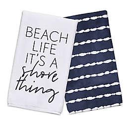 It's A Shore Thing Tea Towel Set