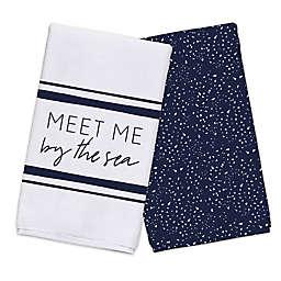 Meet Me By The Sea Tea Towel Set