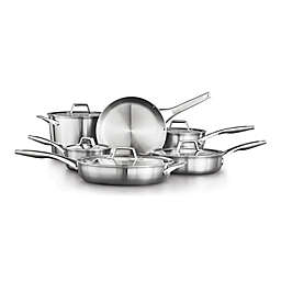 Calphalon® Premier™ Stainless Steel 11-Piece Cookware Set
