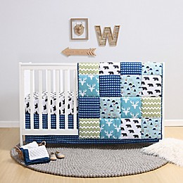 PS by the peanutshell™ Emmett 3-Piece Crib Bedding Set