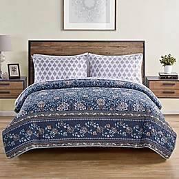 VCNY Home Haidee Damask 5-Piece Quilt Set