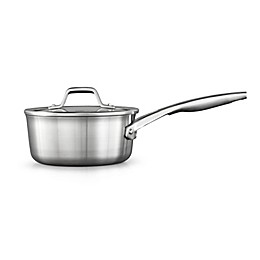 Calphalon® Premier™ Stainless Steel 1.5 qt. Covered Saucepan