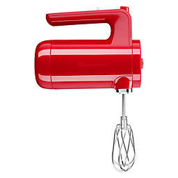KitchenAid® Cordless 7 Speed Hand Mixer in Passion Red