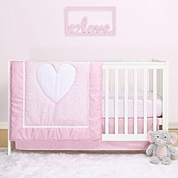 PS by the peanutshell™ Hearts 3-Piece Crib Bedding Set