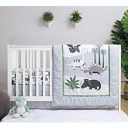PS by the peanutshell™ Dinosaur 3-Piece Crib Bedding Set
