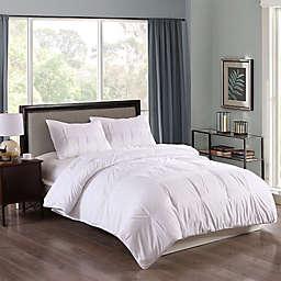 Clean Living Pintuck 3-Piece Water Resistant Comforter Set