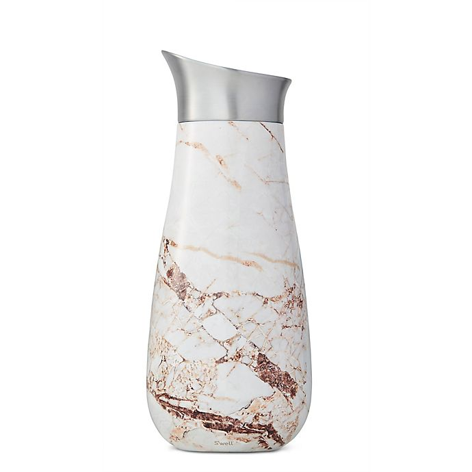 Alternate image 1 for S'well® Calacatta Gold 51oz. Carafe