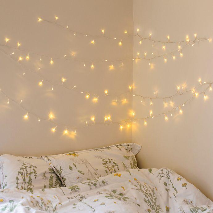 Alternate image 1 for Kikkerland Design 100 LED Mini Bulb White Lights