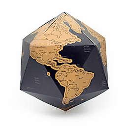 Kikkerland® Scratch-Off Globe