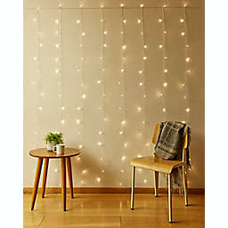 Kikkerland® 150-Light LED Curtain String Lights in Warm White