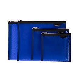 Travelon® 4-Piece Mesh Pouch Set in Blue